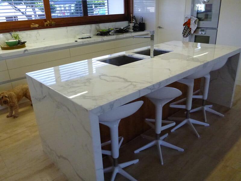 Stone Polishing Marble Benchtop