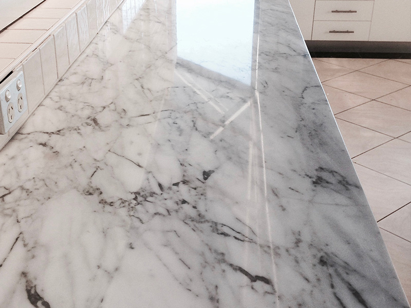 Stone Benchtop Polishing - Marble, Granite, Travertine, Caesarstone