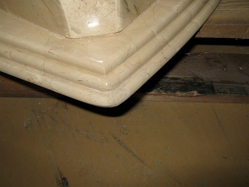 Marble Chip Repair After