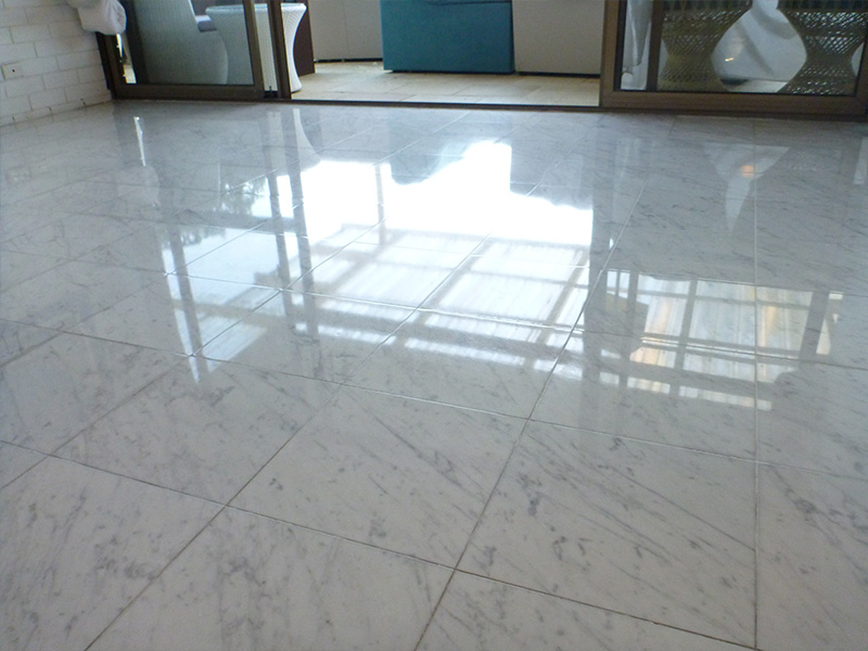 Marble Floor Polish After