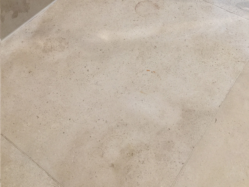 Stone Floor Cleaning Limestone After