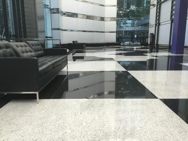 Stone Polishing Granite Floor