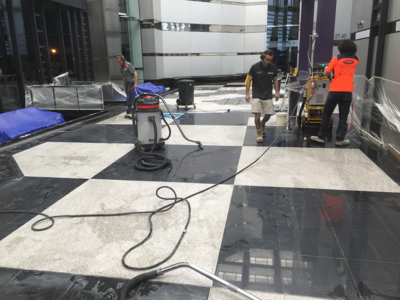 Stone Polishing Granite Floor