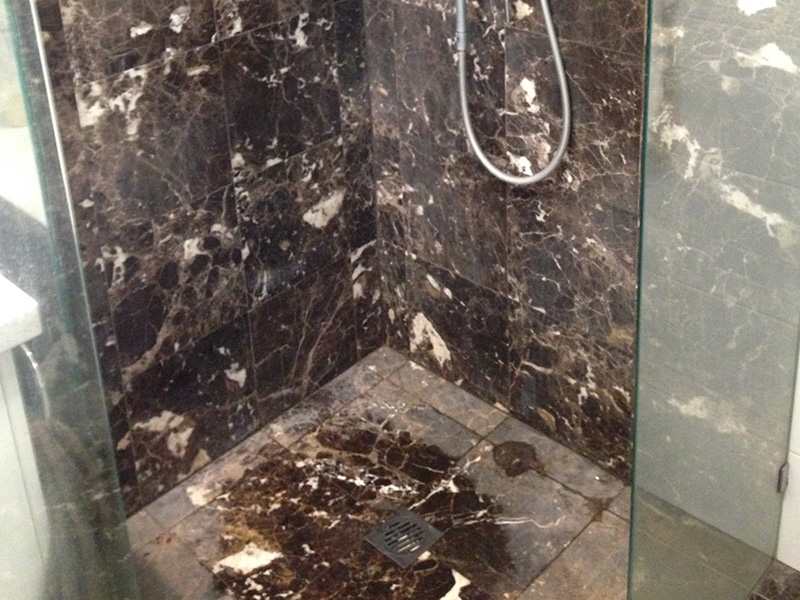 Stone Polishing Marble Shower
