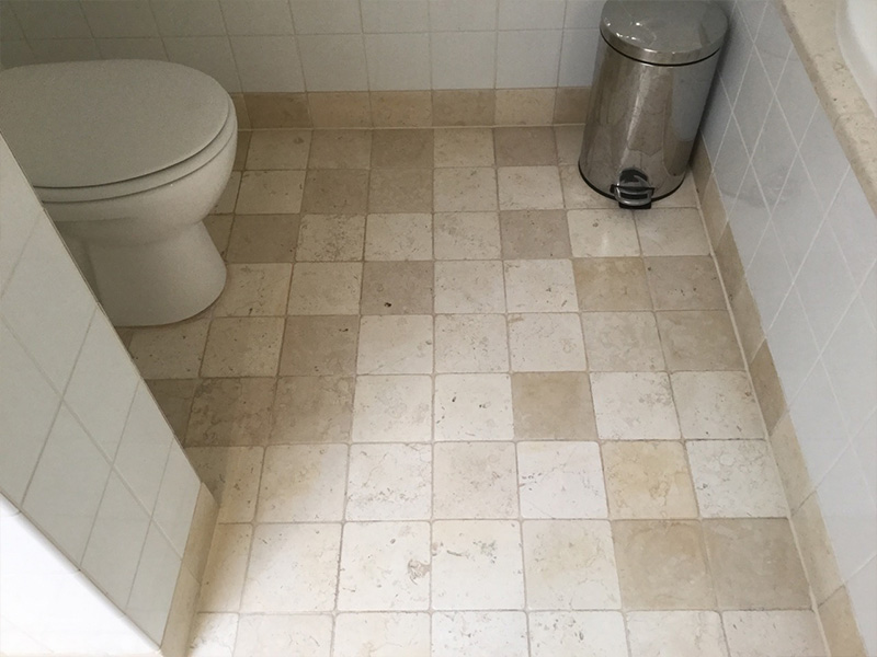 Stone Floor Cleaning Travertine After