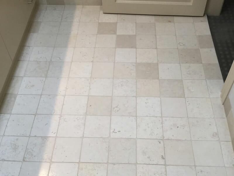 Travertine Floor Clean After