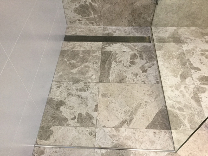 Marble Shower Clean After