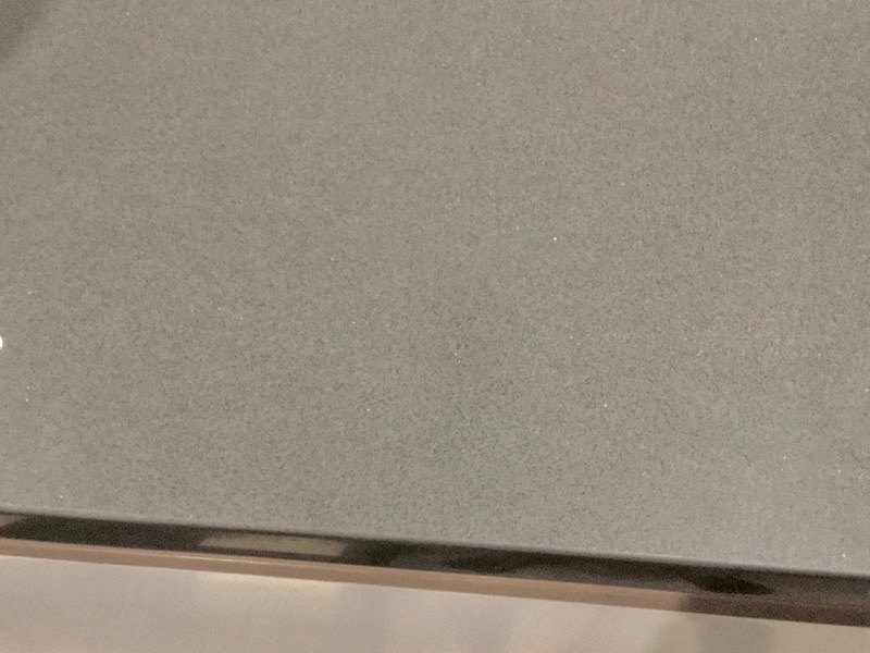 Silestone benchtop stain and scratch polishing AFTER