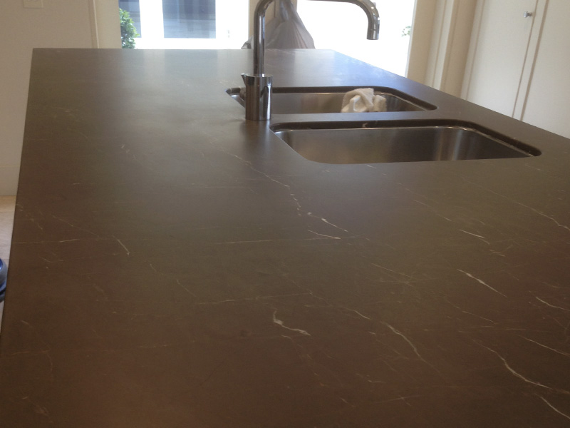Marble Benchtop Honing After